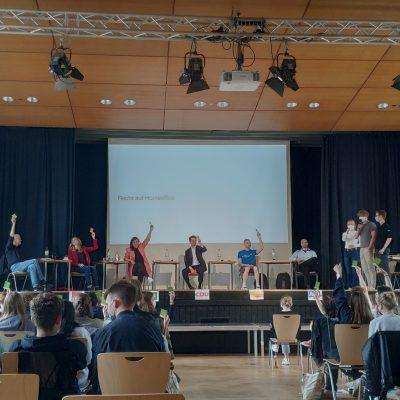 Bundestagswahl Podiumsdiskussion